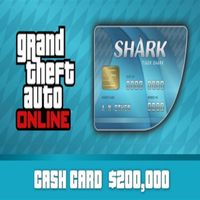 Grand Theft Auto Online: Tiger Shark Cash Card Rockstar Games Key/Code Global