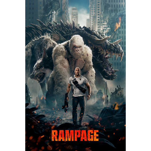 INSTANT DELIVERY WATCH NOW Rampage | HDX | UV VUDU