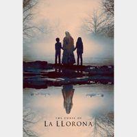 INSTANT DELIVERY The Curse of La Llorona | HDX | VUDU or HD iTunes via MA