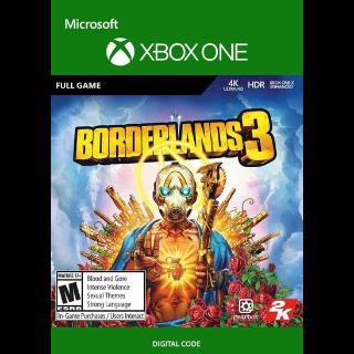 Borderlands 3 Xbox One Key/Code Global