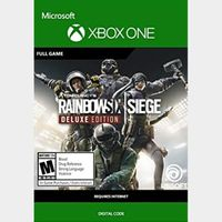 INSTANT DELIVERY Tom Clancy's Rainbow Six: Siege Deluxe Edition Xbox Key/Code Global