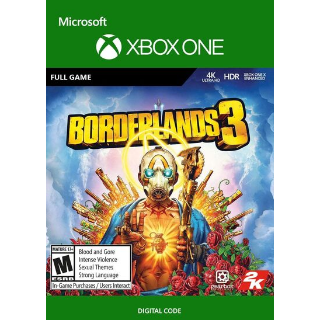 Borderlands 3 Xbox One Key/Code Global
