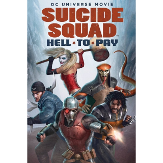 WATCH NOW Suicide Squad: Hell to Pay | HDX | UV