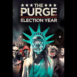 The Purge: Election Year | HDX/HD | UV VUDU