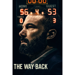 The Way Back | SD | VUDU or SD iTunes via MA