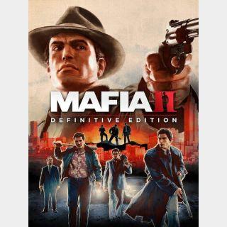 Mafia II: Definitive Edition Steam Key/Code EU