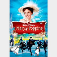 INSTANT DELIVERY Mary Poppins 1964 | HDX | MA