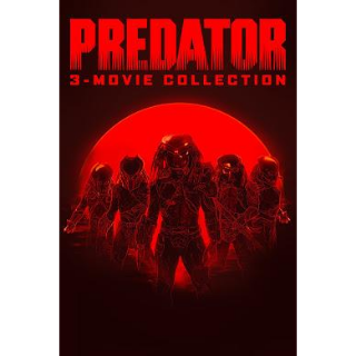 Predator Collection  - 3 MOVIES | HDX | VUDU