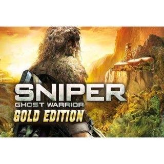 Sniper: Ghost Warrior - Gold Edition Steam Key/Code Global