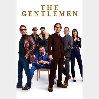 The Gentlemen Digital Code | 4K/UHD | iTunes