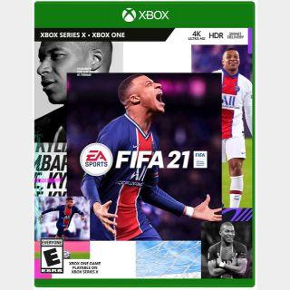 FIFA 21 Xbox One / Xbox Series X|S Key/Code Global