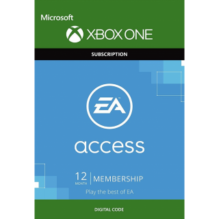 EA Access 12 Month Subscription Key/Code Global