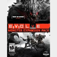 INSTANT DELIVERY Evolve: Monster Expansion Pack PS Key/Code USA