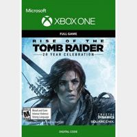Rise of the Tomb Raider 20 Year Xbox One Key/Code Global