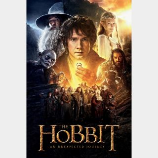 The Hobbit: An Unexpected Journey | HDX | VUDU or HD iTunes via MA