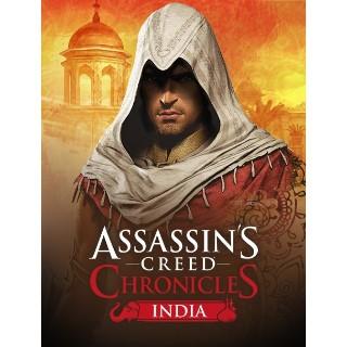 ASSASSIN'S CREED CHRONICLES: INDIA Uplay Key/Code Global