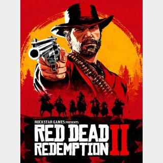 Red Dead Redemption 2 Rockstar Games Key/Code Global
