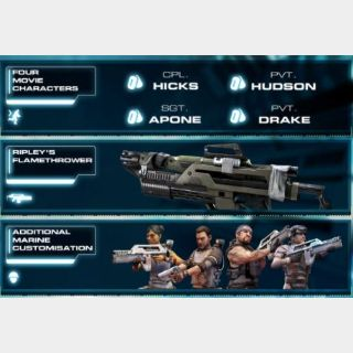 INSTANT DELIVERY Aliens: Colonial Marines Limited Edition pack Xbox 360 Key/Code Global
