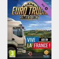 Euro Truck Simulator 2 - Vive la France DLC Steam Key/Code Global