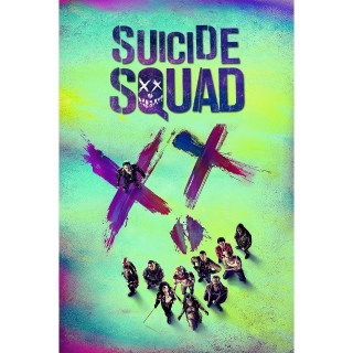 Suicide Squad Theatrical + Extended | HDX | UV VUDU