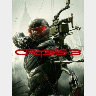 Crysis 3 Origin Key/Code Global