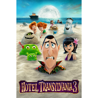 Hotel Transylvania 3: Summer Vacation | HDX | UV VUDU or HD iTunes via MA