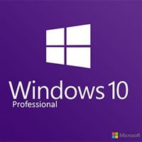 Microsoft Windows 10 Professional (Pro) OEM 32/64 Bit Key/Code Global