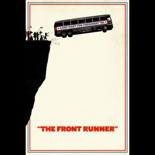 The Front Runner | SD | VUDU or SD iTunes via MA