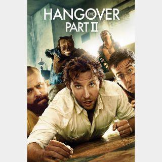 The Hangover Part II 2| HDX | UV VUDU