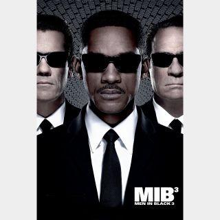 Men in Black 3 | HDX | VUDU or HD iTunes via MA