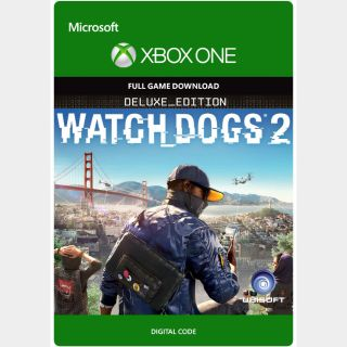 Watch Dogs 2 Deluxe Edition Xbox One Key/Code Global