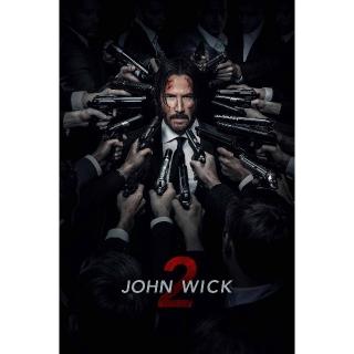 John Wick 2 | HDX | VUDU