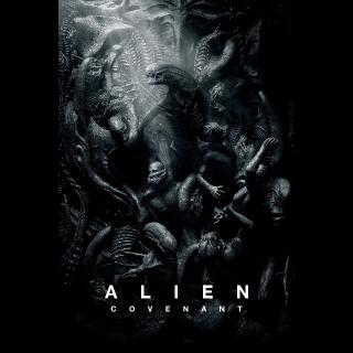 INSTANT Alien: Covenant | HDX VUDU OR HD iTunes via MA