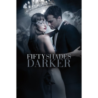 INSTANT DELIVERY Fifty Shades Darker Unrated | HDX | VUDU or MA