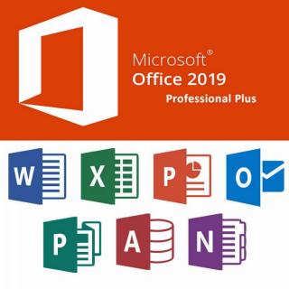 Microsoft Office 2019 Professional Plus Full Version Lifetime Key/Code 32/64 Bit Global