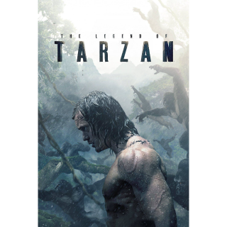 The Legend of Tarzan | HDX VUDU OR iTunes via MA