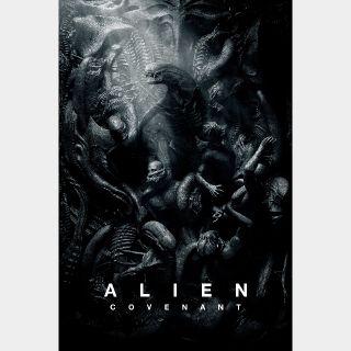 Alien: Covenant | HDX | VUDU or HD iTunes via MA