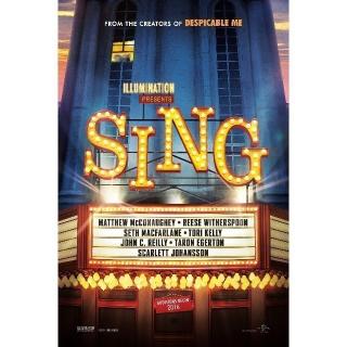 Sing | HDX | VUDU