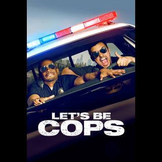INSTANT DELIVERY Let's Be Cops   HDX   VUDU