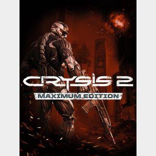 Crysis 2: Maximum Edition Origin Key/Code Global