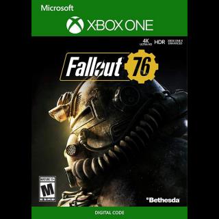 Fallout 76 Xbox One / Xbox X 𝟰𝗞 𝗛𝗗𝗥 Key/Code Global