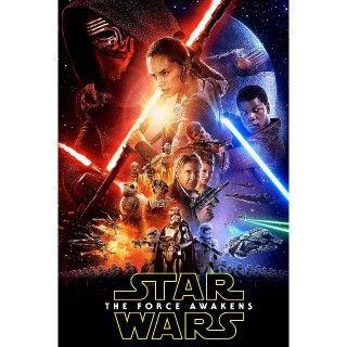 Star Wars: The Force Awakens | HDX/HD | UV VUDU