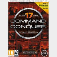 Command & Conquer The Ultimate Collection Origin Key GLOBAL