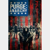INSTANT DELIVERY The Purge: Anarchy | HDX | VUDU or HD iTunes via MA