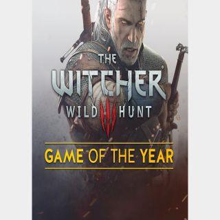 The Witcher 3 Wild Hunt GOTY GOG Key/Code Global