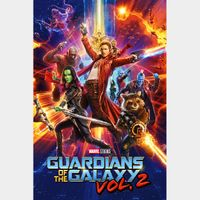 INSTANT DELIVERY Guardians of the Galaxy Vol. 2 | HDX | MA