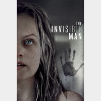 The Invisible Man Digital Code | HDX | VUDU or HD iTunes via MA