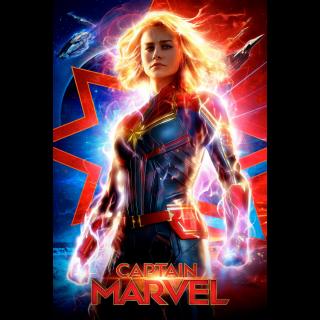 INSTANT Captain Marvel | HDX | MA