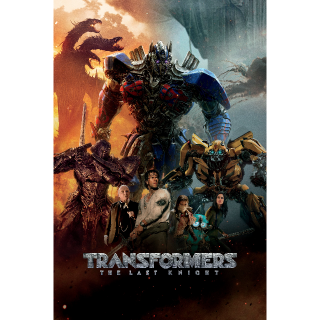 Transformers: The Last Knight   HDX   UV VUDU