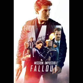 Mission: Impossible Fallout | HDX | VUDU